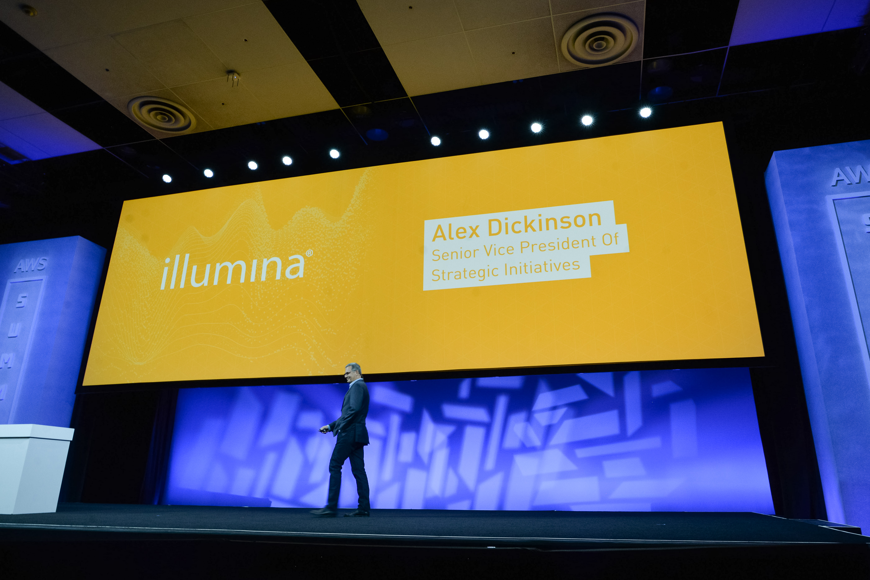 Alex Dickinson, SVP Strategic Initiatives, Illumina