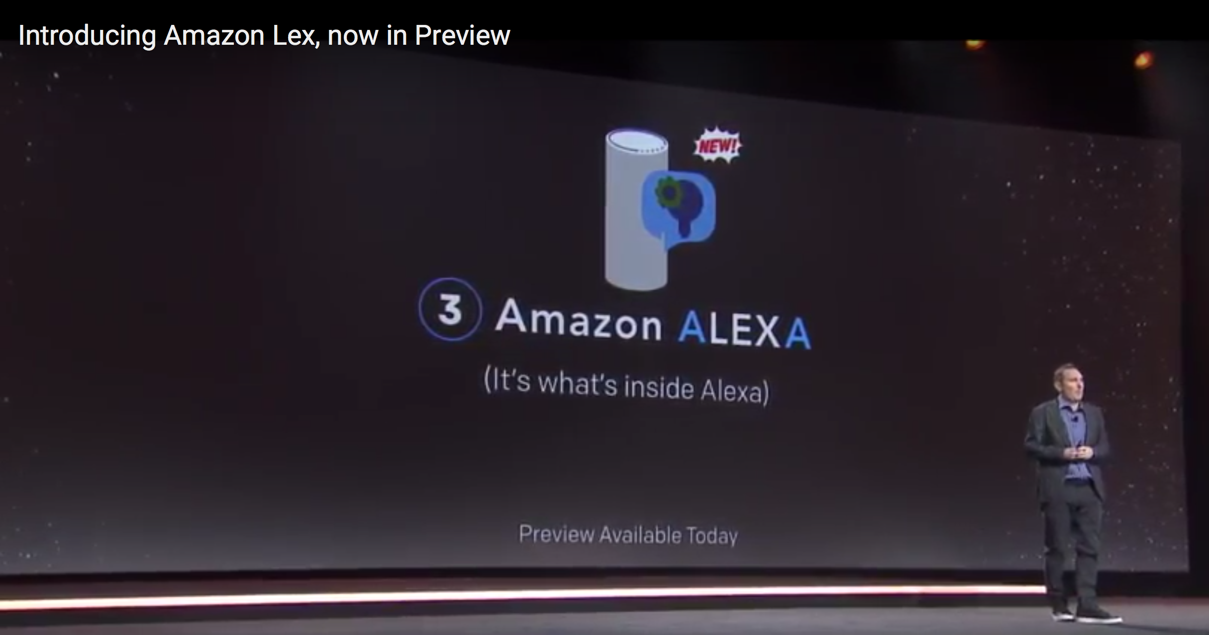 Introducing Amazon Lex, Now in Preview