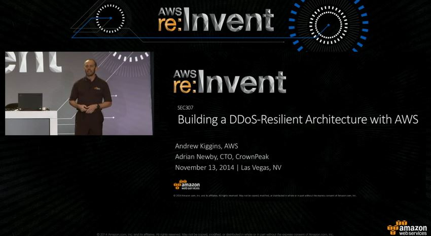 building ddos resilient architecture