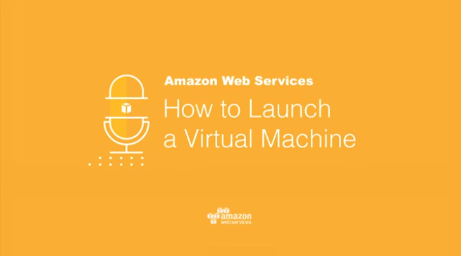 Launch a Linux virtual machine in Amazon Web Services