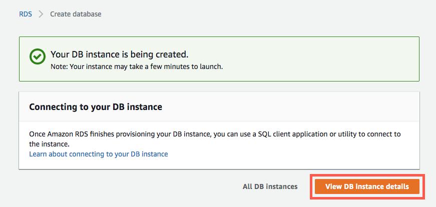 Cómo crear una base de datos MariaDB – AWS