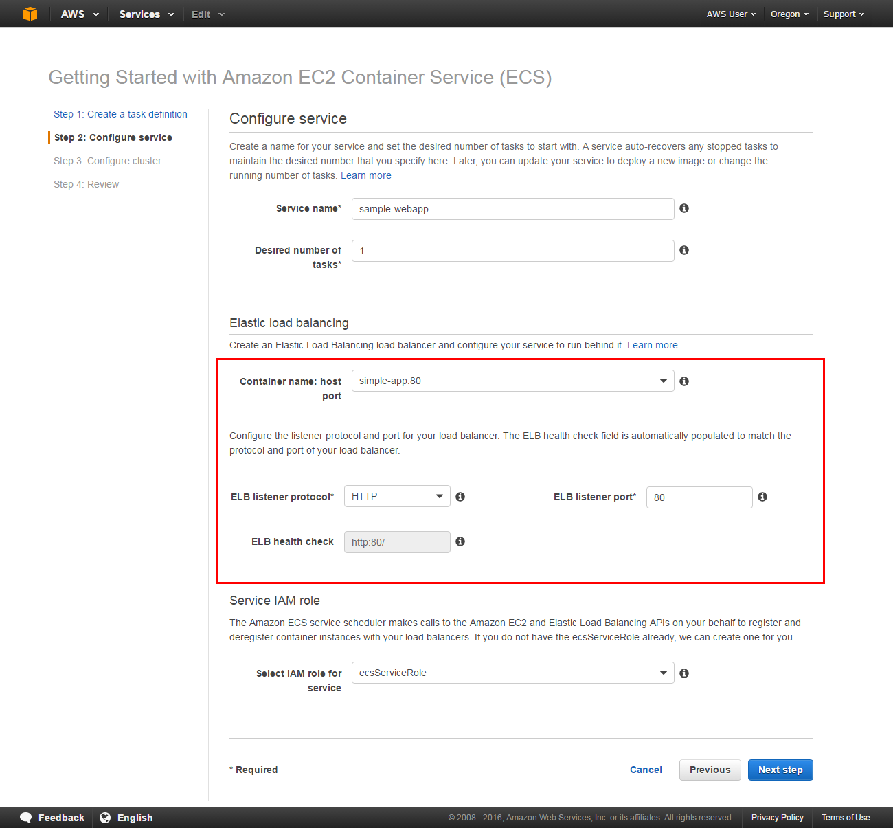 Come distribuire container Docker – AWS