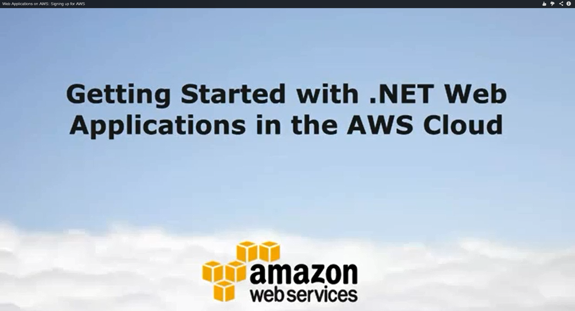 Gettingstarted_signing up for AWS