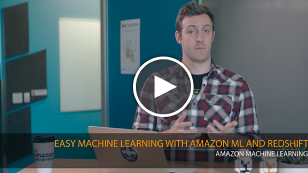 17-Easy Machine Learning with Amazon ML and Redshift_play
